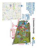 Map of Benedictine University