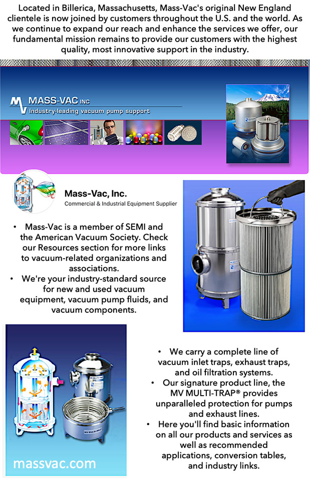 Mass Vac - detailed ad